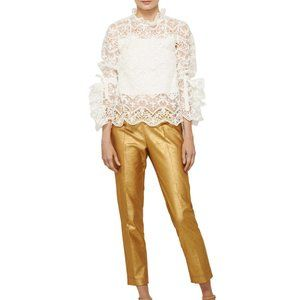 Alvin Valley Kingsley Corduroy Pant Gold Metallic